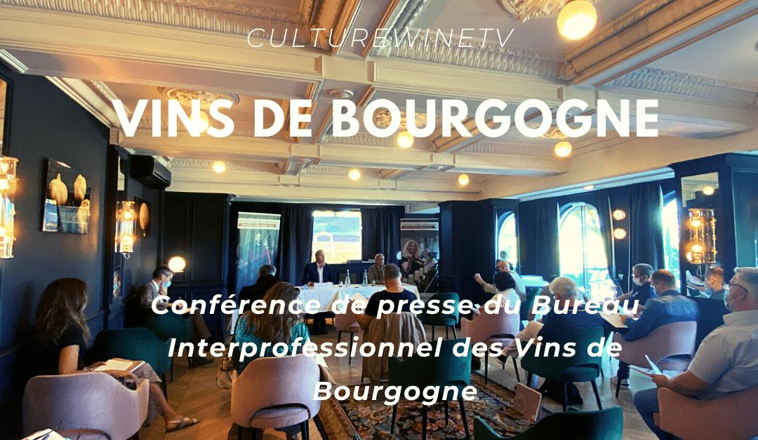 Vins de Bourgogne : millésime 2020 – Conférence de presse